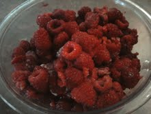2 the last of the seasons glorious raspberries