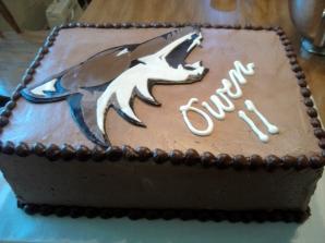 coyote cake closeup