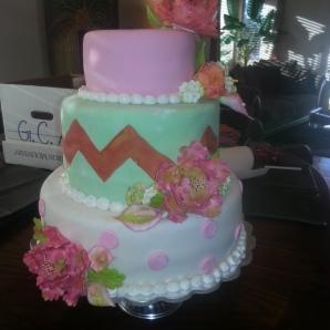 Ward graduation cake